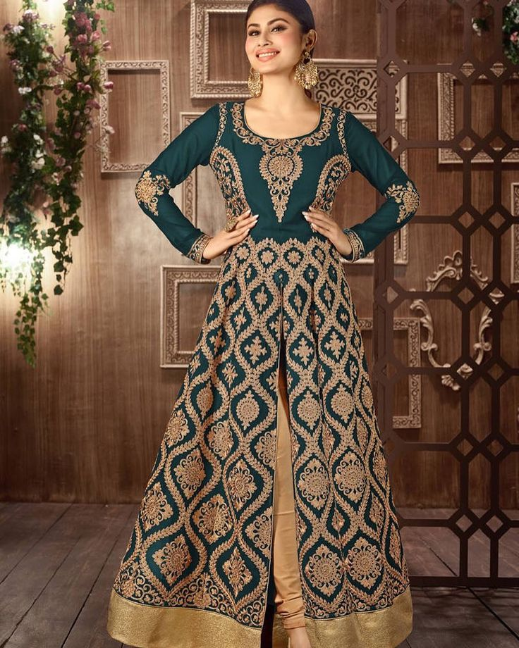 Dark Green Embroidered Wedding Anarkali Product id- 1536686 | Price-USD 78 Worldwide Delivery  7 day return policy with 100% refund. DM or whatsapp on 91 8291100288  Follow us on @mirraw  #salwarkameez #partycollection #freeshipping #hugediscounts #christmas #sale #newyear #salwarsuit #anarkali #worldwidedelivery #anarkali #onlineshopping #ethnic #shoppinglove #embroidery #hasslefree #newcollections #trendingdesigns #salwarlove #happyshopping #mirrawshopping #mirrawsalwars #mirrawanarkalis