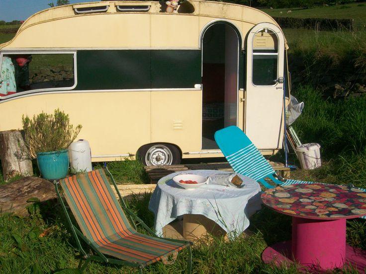 Classic Safari 4 Birth Caravan 1962