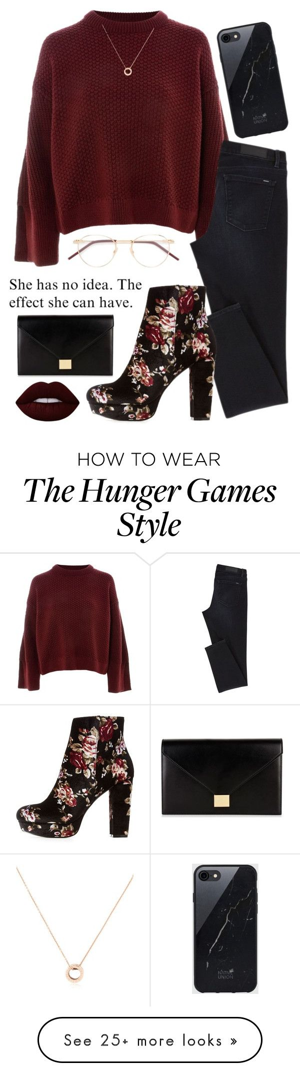 """""""Date night"""" by tessilou14 on Polyvore featuring Topshop, Charlotte Russe, Lime Crime, Sefton, Bulgari and Victoria Beckham"""