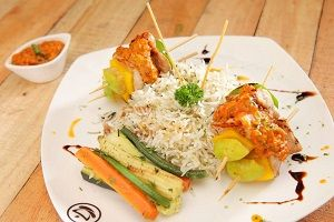 Grilled Chicken Skewers   The Chaai   Pune