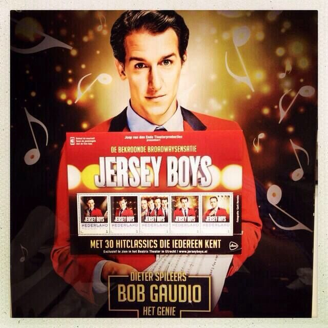 Jersey Boys Stamps