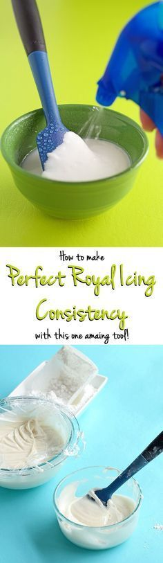 How to Thin Royal Icing for a Perfect Consistency for Your Decorated Sugar Cookies   The Bearfoot Baker