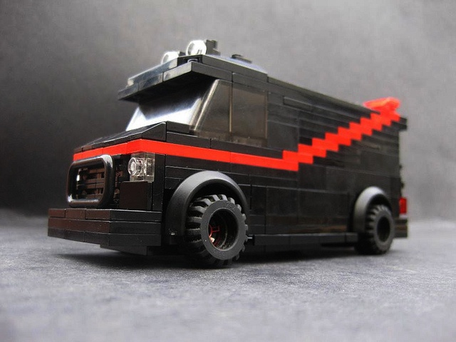 The A Team Lego van