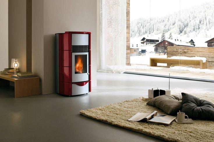 chauffage moins cher à biomasse cheminée à granulés chauffage ...