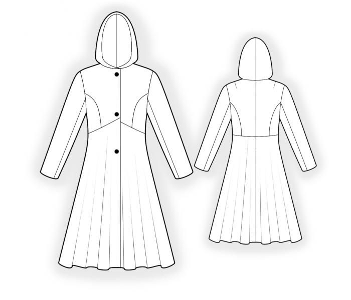 73 best Sewing Patterns: Outerwear images on Pinterest | Sewing ...