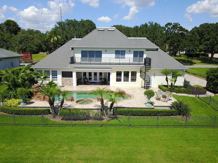 You'll love this beautiful two-story golf front home with spectacular panoramic views of the Bay Hill Championship golf course… | HOMES FROM JAN