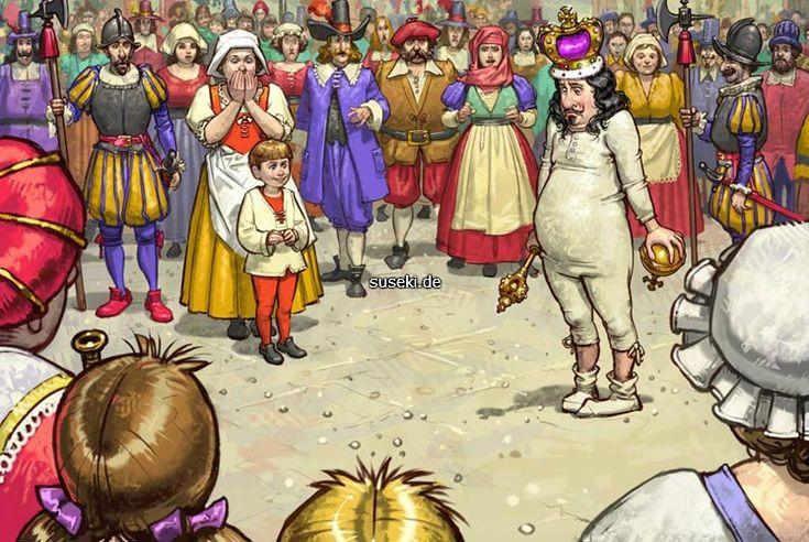 если сказка андерсена новое платье короля с картинками песня красной