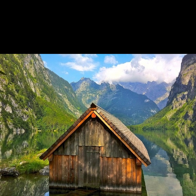 I want to live in this cabin