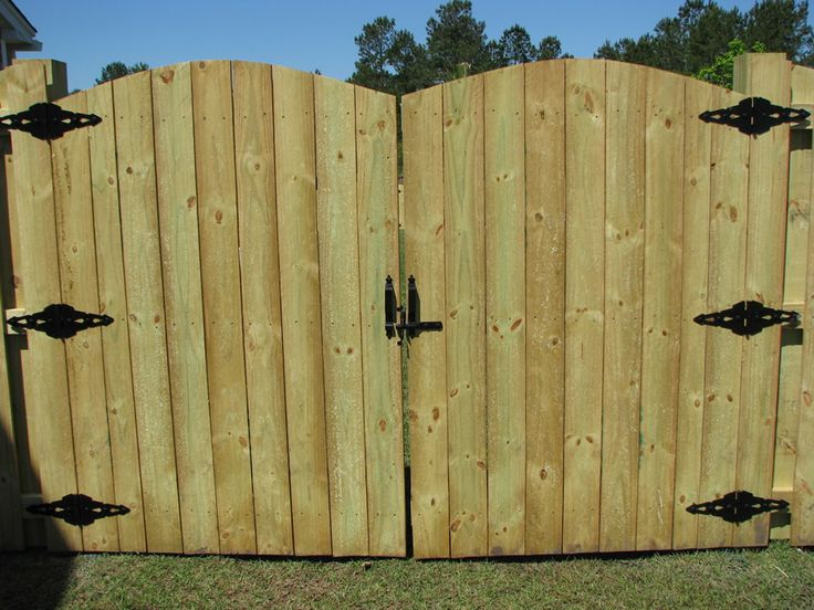 Privacy Fence Gates Ideas For The Yard Pinterest