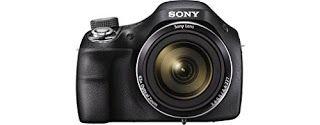 Sony DSCH400 Digital Compact Bridge Camera - Black ~ Kissys