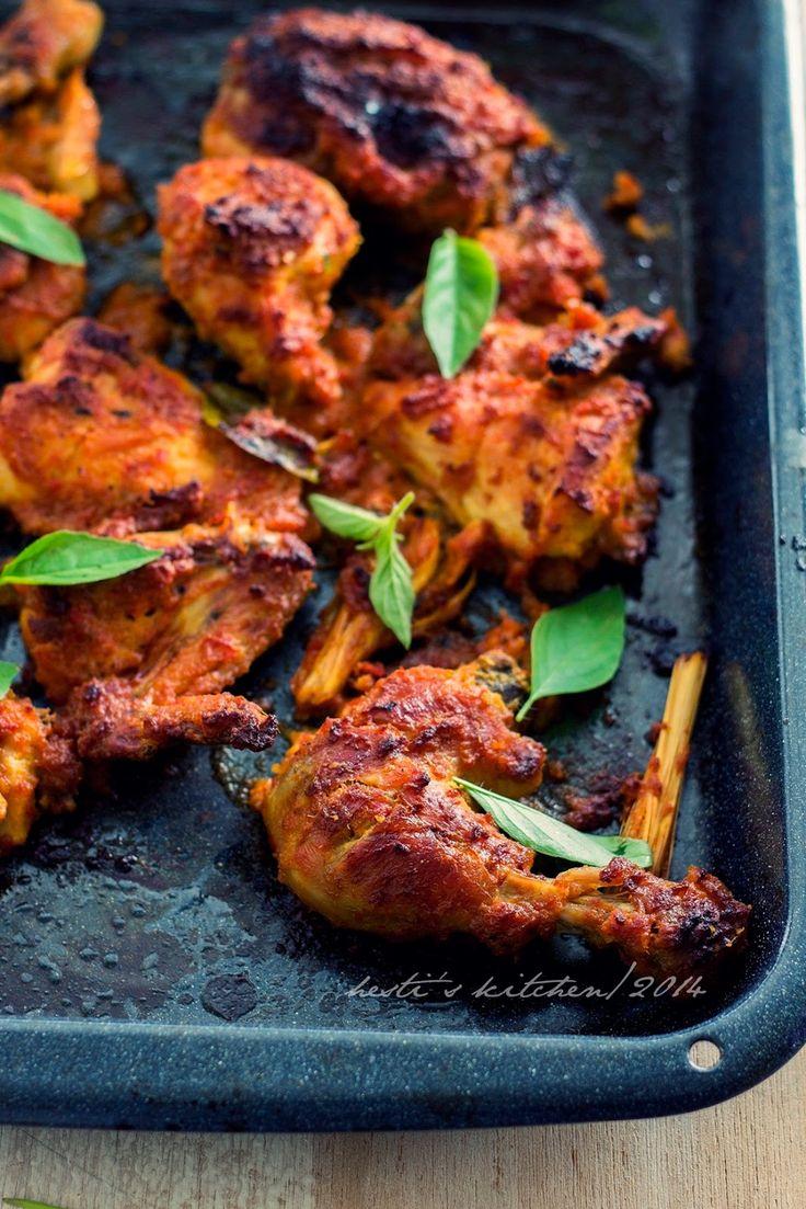 HESTI'S KITCHEN : yummy for your tummy: Ayam Bakar Bumbu Rujak