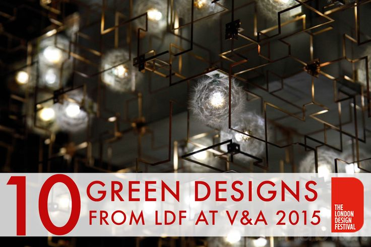 10 Stunning green designs from the V&A at London Design Week 2015