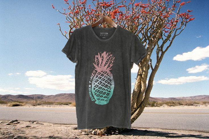 SUMMER TIME Zuttion Men's, Men's Clothing, Men's T-shirt, Summer Wear, Wash