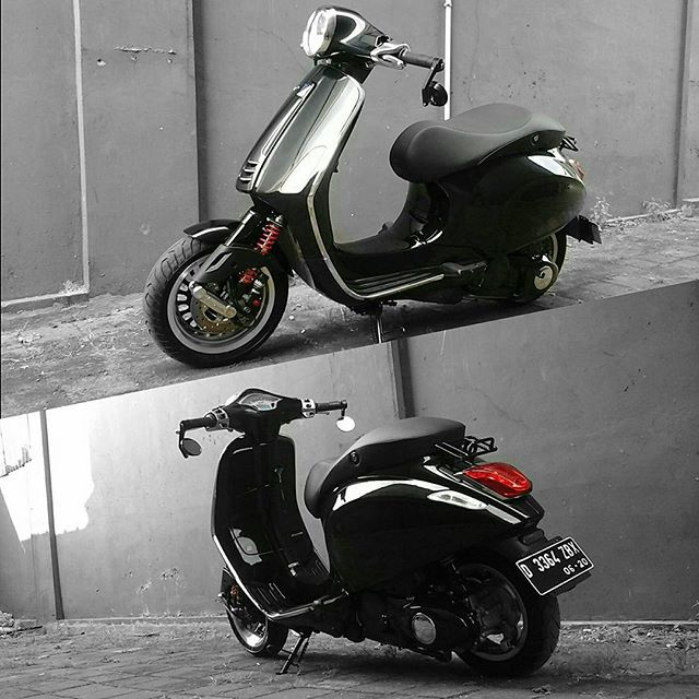 Instagram media by negyj - Nero vulcano #vespa #primavera