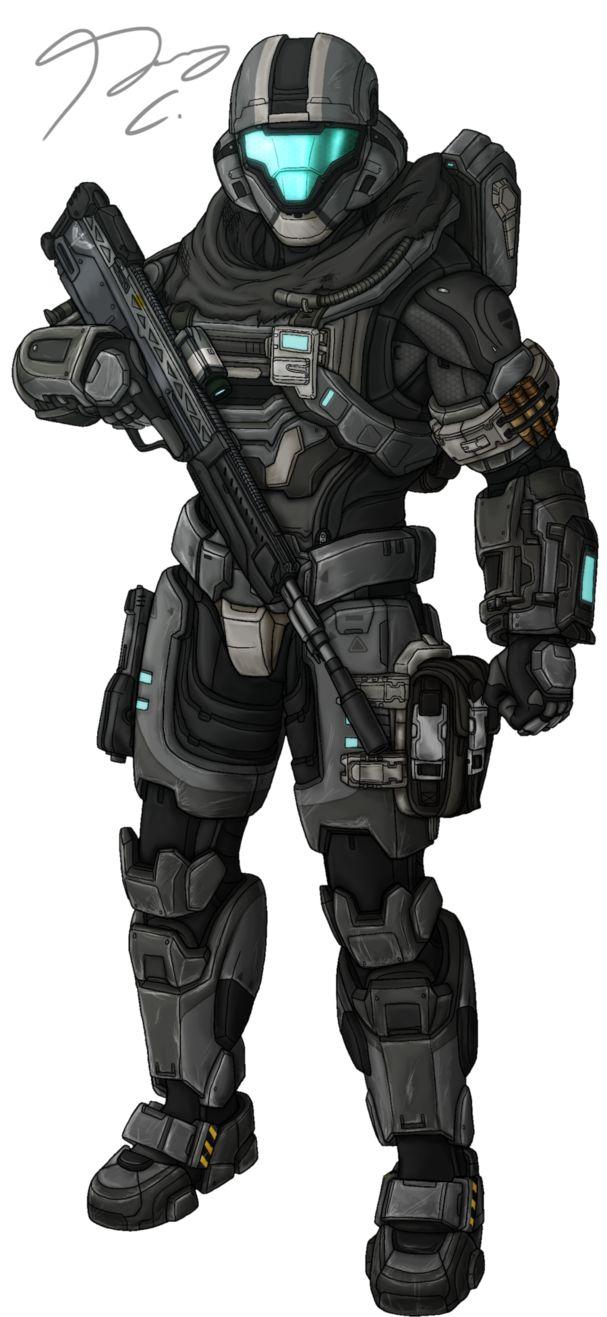 Commission - Spartan AURA115 by Guyver89 on DeviantArt