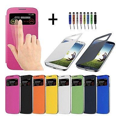 PinkQueen® Samsung Galaxy S4 I9500 suojakuori ikkunalla, värivalikoima – EUR € 5.51