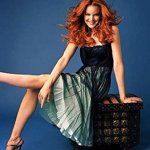 "Marcia Cross. Actress ""Desperate Housewives"" born 1962"