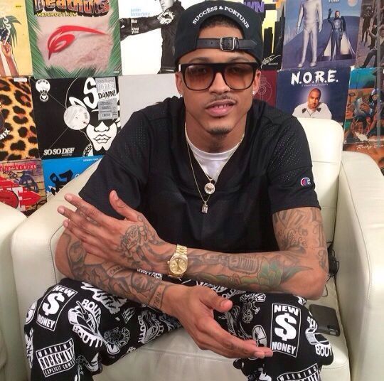 August Alsina after having an interview just look it up on youtube.