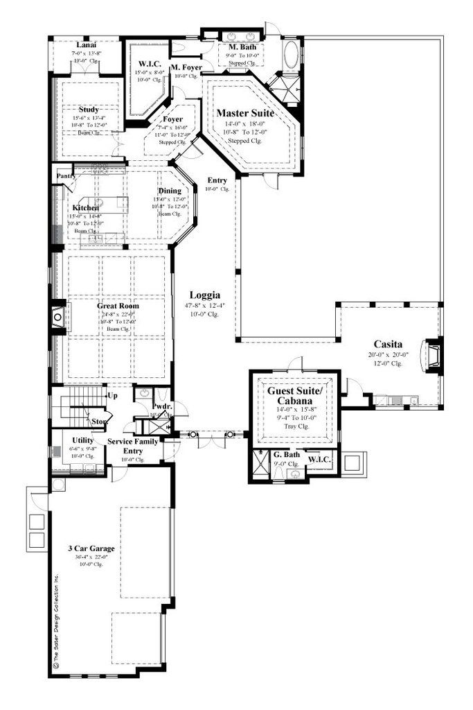 1000 images about homes on pinterest for Sater design house plans