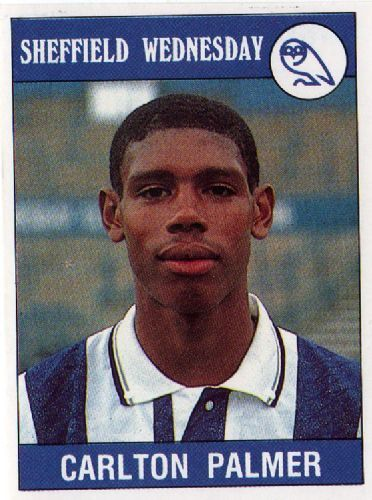 Carlton Palmer of Sheffield Wed in 1991.