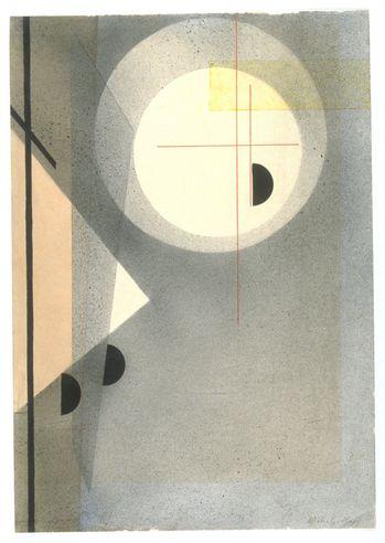 László Moholy-Nagy, Abstrakte Komposition, ca. 1925 http://decdesignecasa.blogspot.it