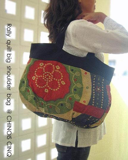 ラリーキルト ショルダーバッグ アジアンファッションアジアン衣料と雑貨 シノアサンク