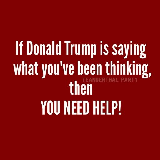 Trump supporters are white, uneducated, racist bully bigots, who have been willfully brainwashed by the PARTY OF FEAR & OBSTRUCTION, RACISTS & BIGOTS, SEXIST & HOMOPHOBES AKA GOP.