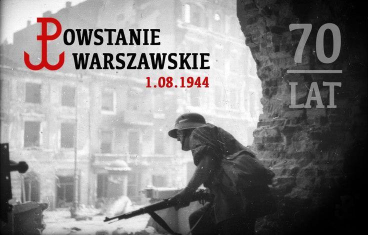 """1 sierpnia o 17:00, w godzinę """"W"""" - pamiętajmy o Bohaterach Powstania Warszawskiego - powstańcach i ludności cywilnej Warszawy."""