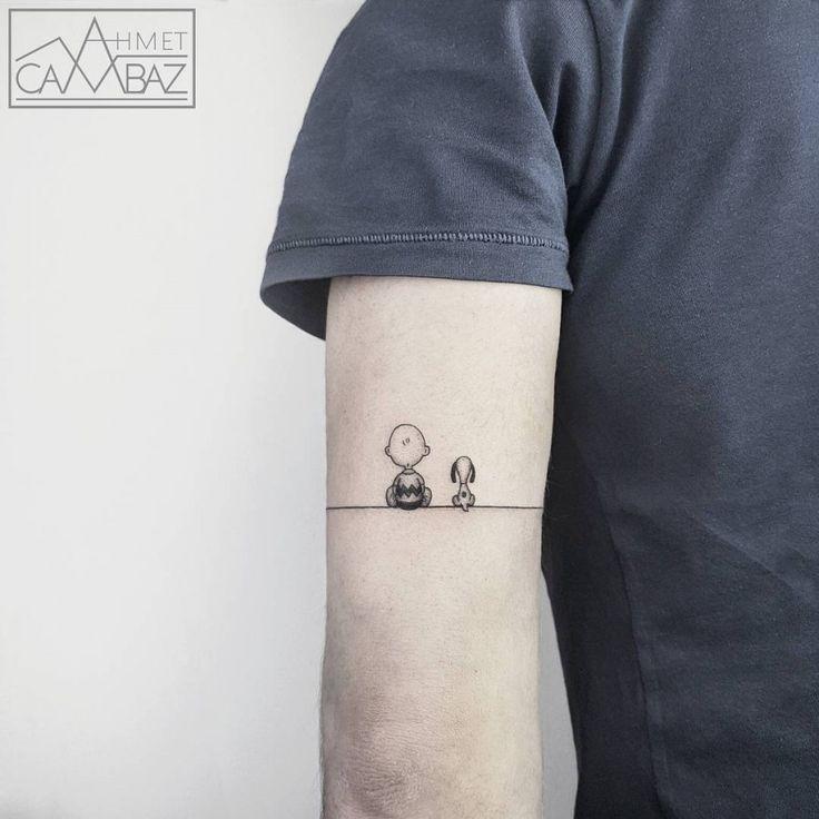 Peanuts/Snoopy tattoo