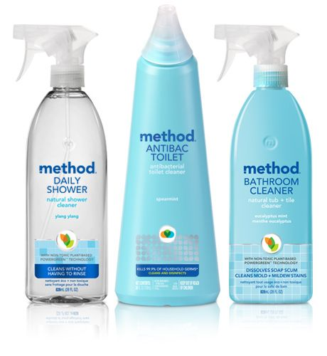 stop fearing your bathroom. unless you-know-who just came out of it. armed with our antibacterial toilet cleaner and non-toxic, plant-based daily shower spray and tub + tile cleaner, you'll be ready to tackle soap scum, germs and whatever else your fixtures can dish out in one fell swoop. and you won't have to hold your breath while you do it.
