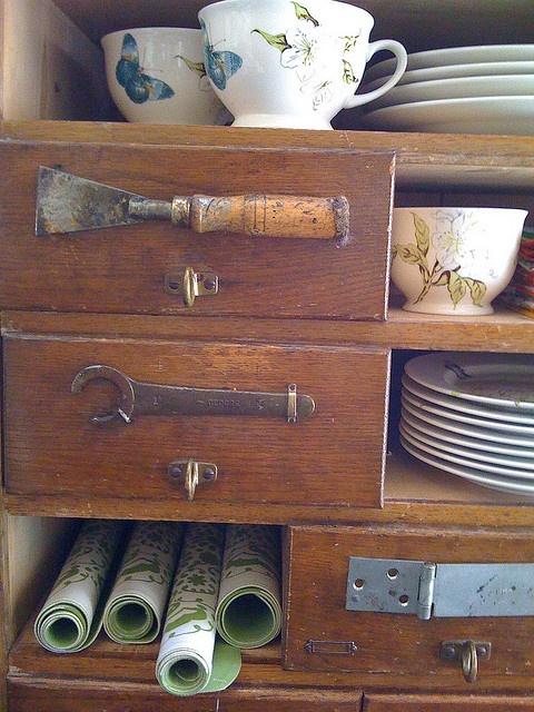 faire des poignées avec de vieux outils