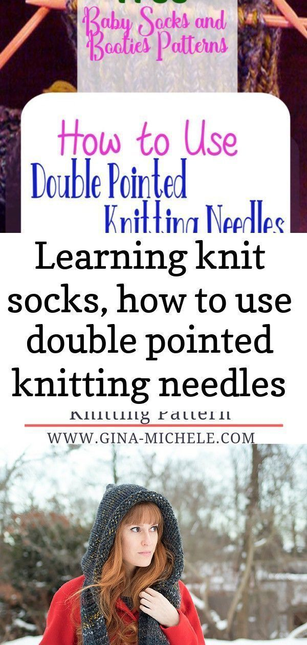 Using Double Pointed Needles To Make Fingerless Mitts - Youtube