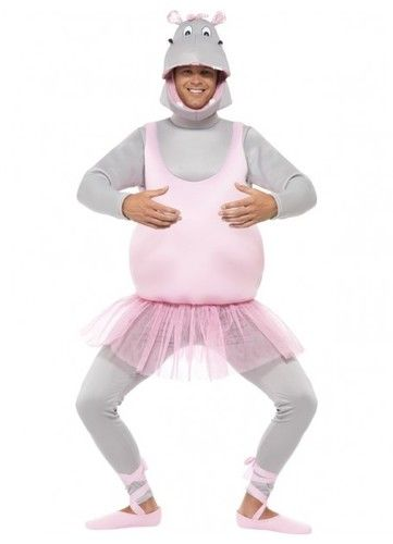 Hippo Ballerina Animal Costume. Biggest range of Animal Costumes available online Costume Direct Australia. Fast Shipping
