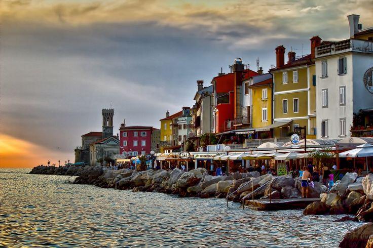 Piran, Slovenia love the colours