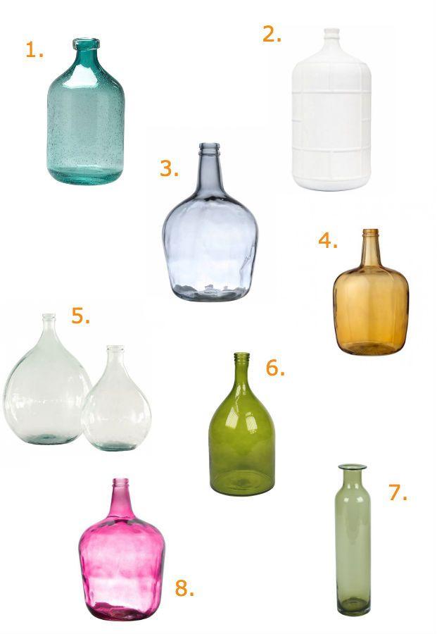 Budget find: decoratieve flessen en vazen onder de 45 euro Roomed | roomed.nl