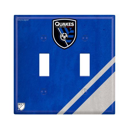 San Jose Earthquakes Double Toggle Light Switch Cover
