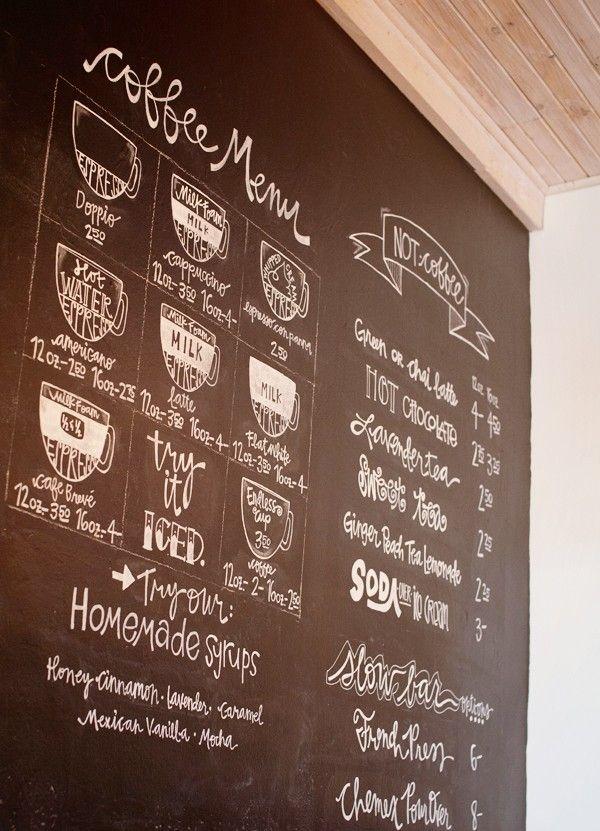 Coffee Menu | Jos | Mount Pleasant | Texas