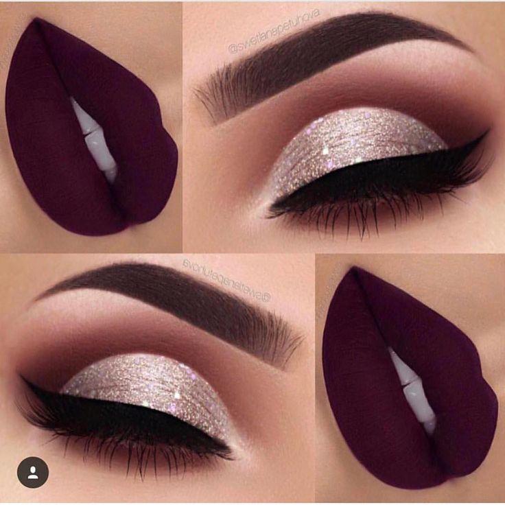 Repostando essa maquiagem super linda. Vocês pediram para mim o nome do batom, é o Kourt K da @kyliecosmetics! Qual é o seu batom favorito?