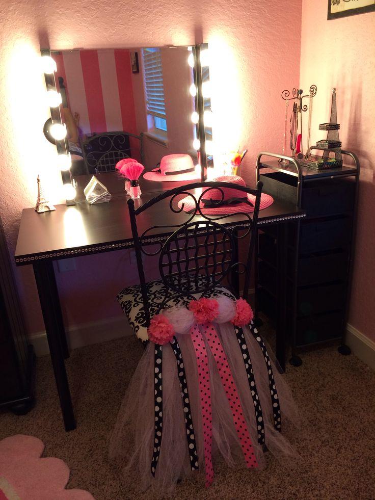 paris room vanity kid s room paris room decor paris rooms bedroom crafts. Black Bedroom Furniture Sets. Home Design Ideas