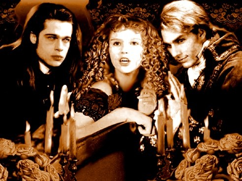 Interview With The Vampire Louis And Lestat Louis, Claudia and Les...