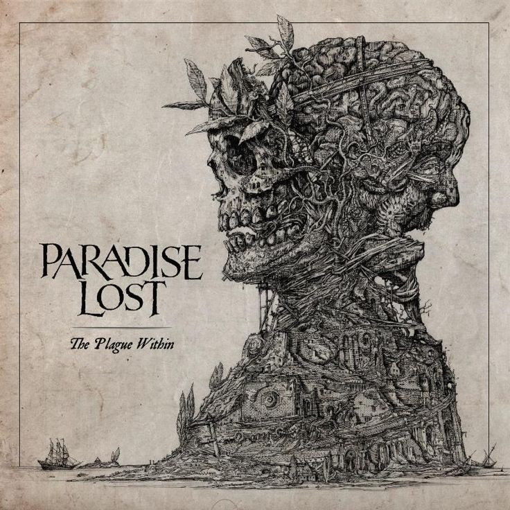 Brit gothic doom metal band Paradise Lost have just revealed the cover artwork for their upcoming new album, The Plague Within. The band's fourteenth album