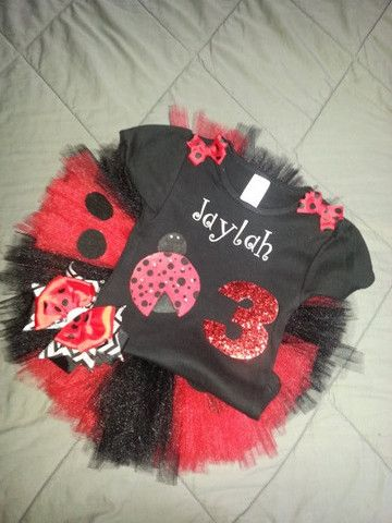Ladybug Tutu Set – Just Tutu Cute & Co