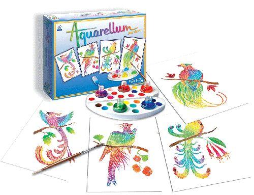 Aquarellum JUNIOR Series - Birds