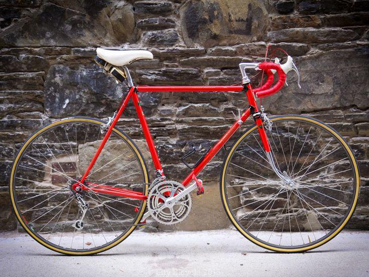 Custom 1983 Motobecane Grand Record Vintage Road Bike