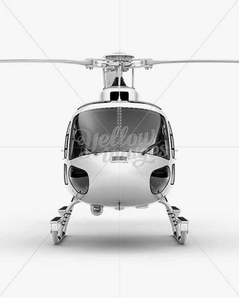 Eurocopter AS350 Mockup Front View