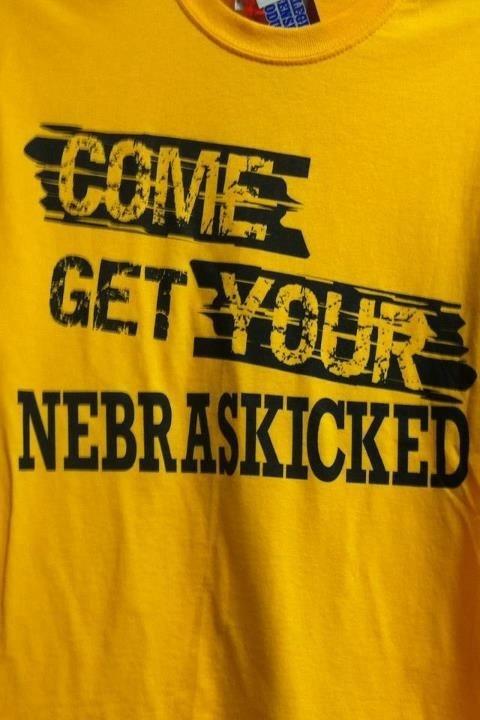 Iowa Hawkeye T-Shirt...perfect for my 'other half' nebraska rival!
