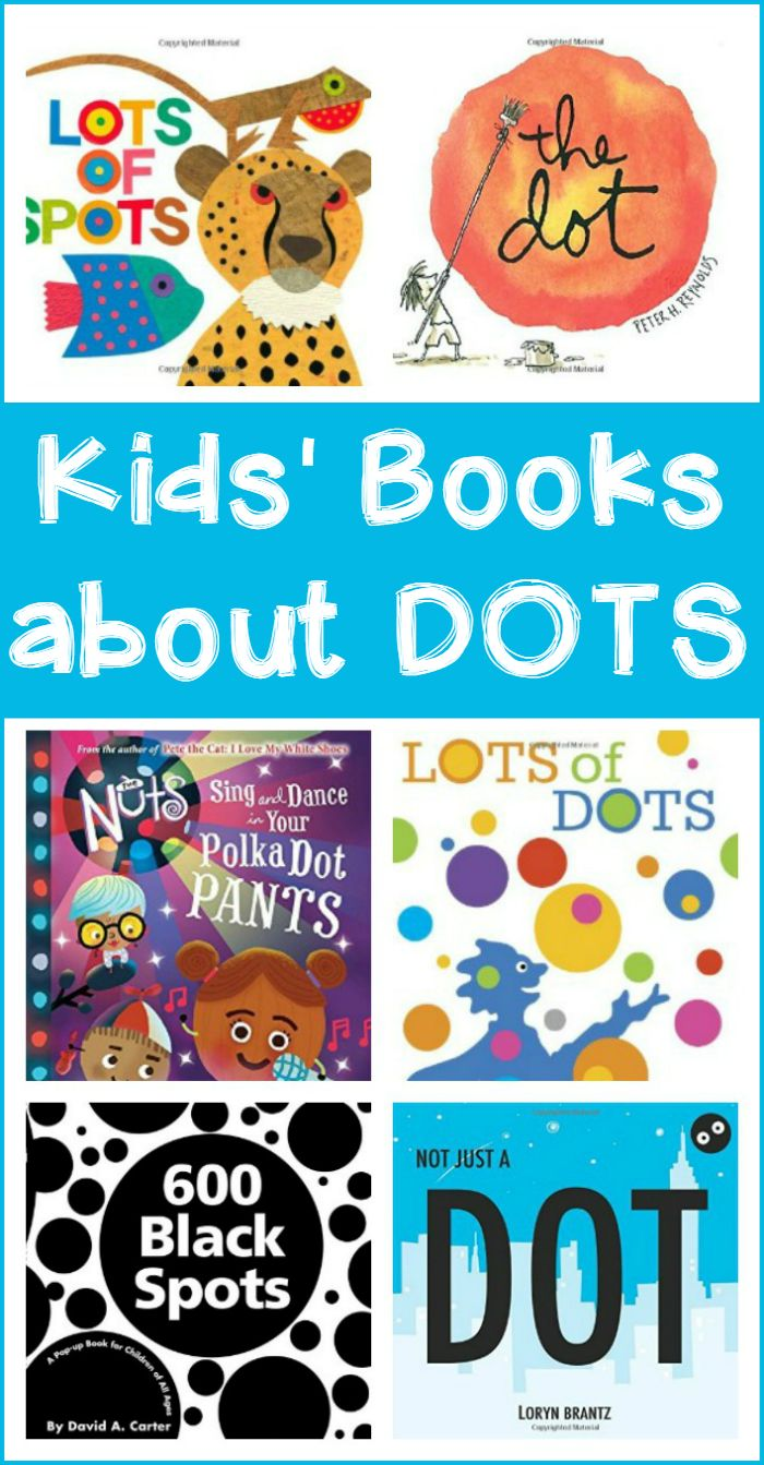 Kids' books about circles, dots, and spots