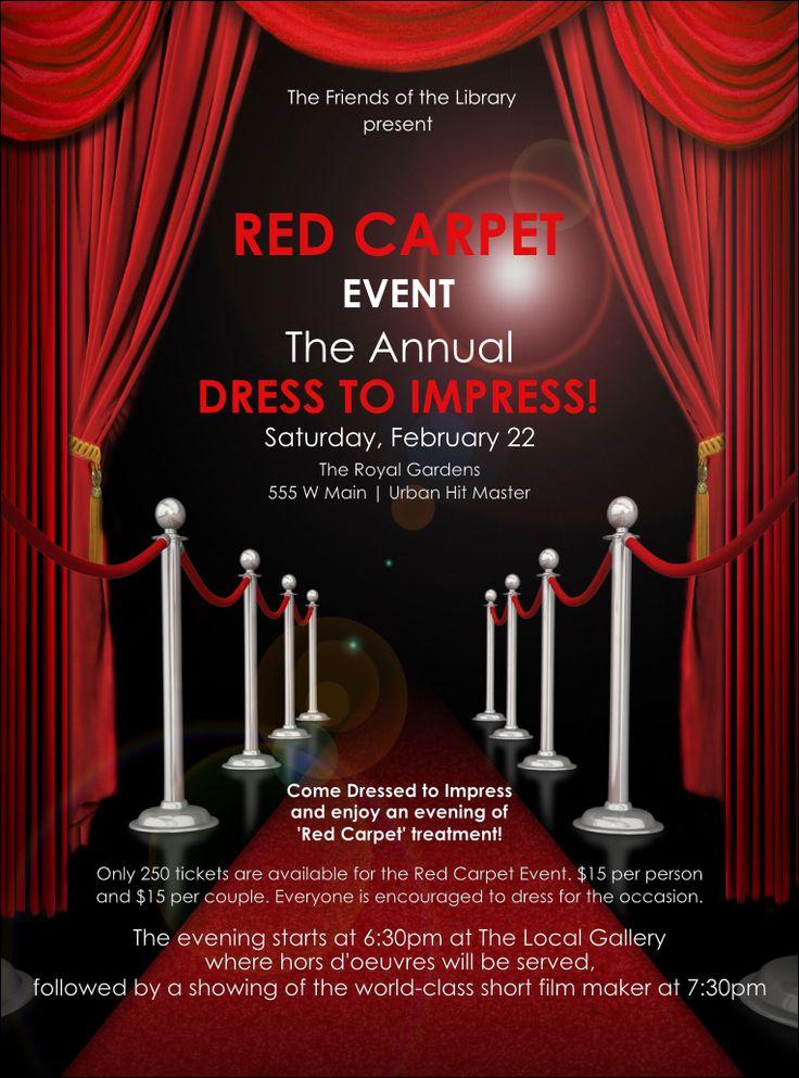 red carpet flyer