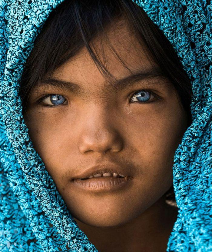 Graue bedeutung blau augen Graue Augen