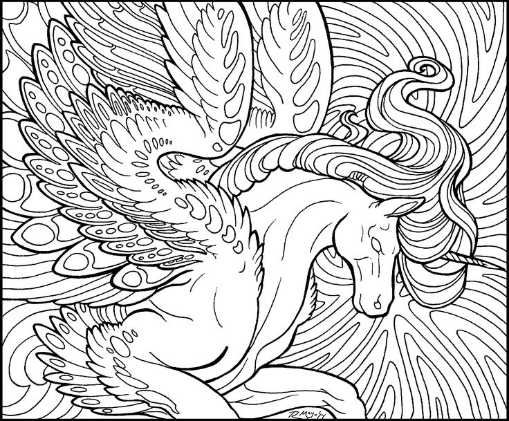 Starlight Pegasus Lineart By Rachaelm5 DeviantArt UniPeg Fantasy Myth Mythical Mystical Legend Wings Coloring Pages